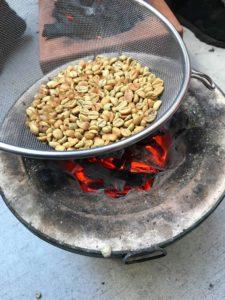 高槻産竹炭焙煎珈琲豆